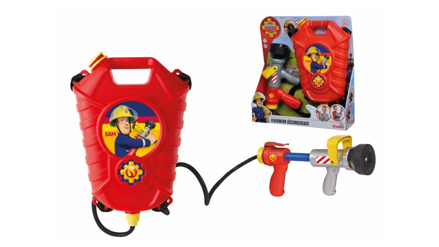 Simba Feuerwehrmann Sam Tankrucksack