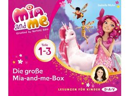Die grosse Mia and me Box Teile 1 3