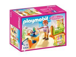 PLAYMOBIL 5304 Dollhouse Babyzimmer mit Wiege