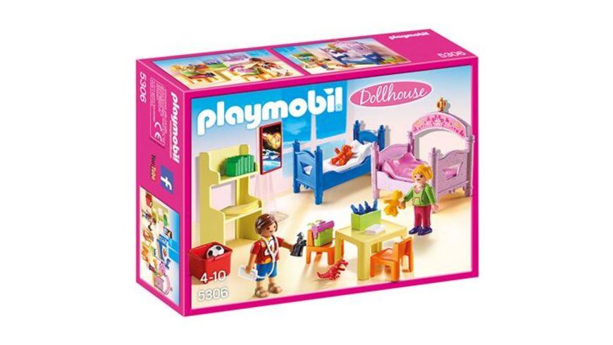 PLAYMOBIL 5306 Dollhouse Buntes Kinderzimmer