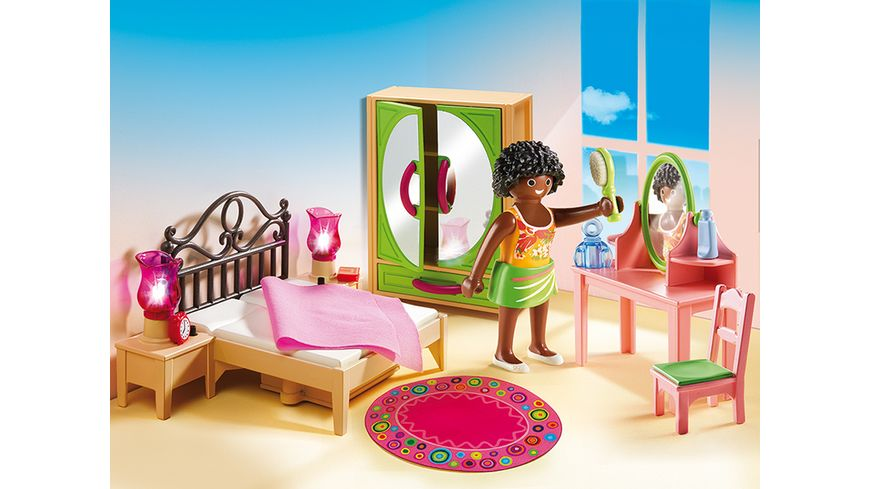PLAYMOBIL 5309 Dollhouse Schlafzimmer mit Schminktischchen