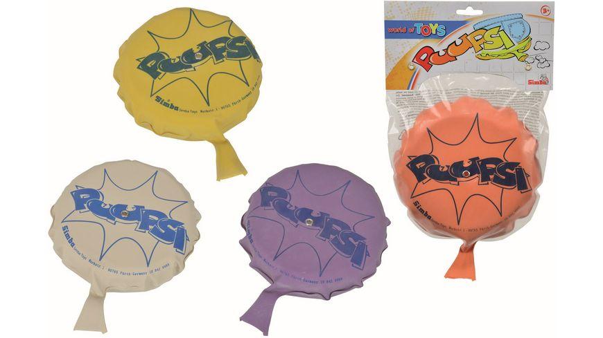 Simba World of Toys Puuupsi Kissen 4 sort