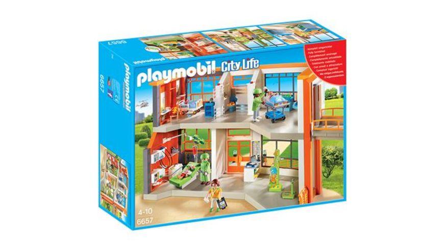 PLAYMOBIL 6657 City Life Kinderklinik mit Einrichtung