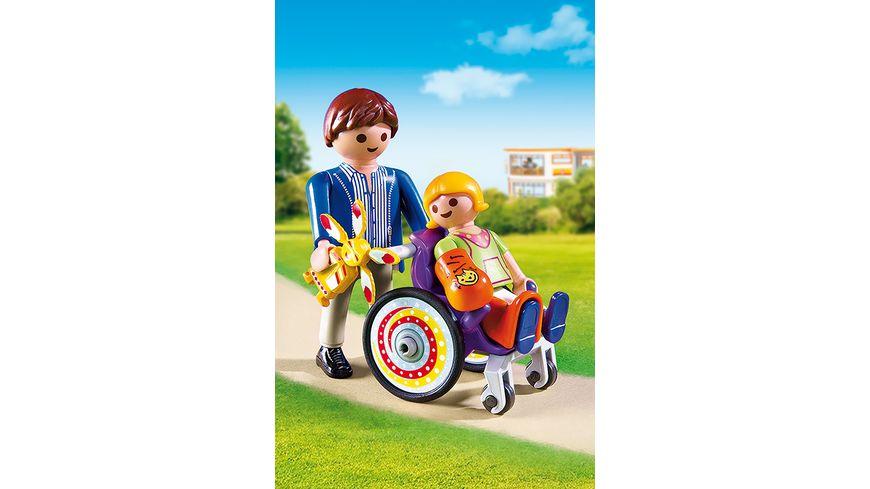PLAYMOBIL 6663 City Life Kind im Rollstuhl
