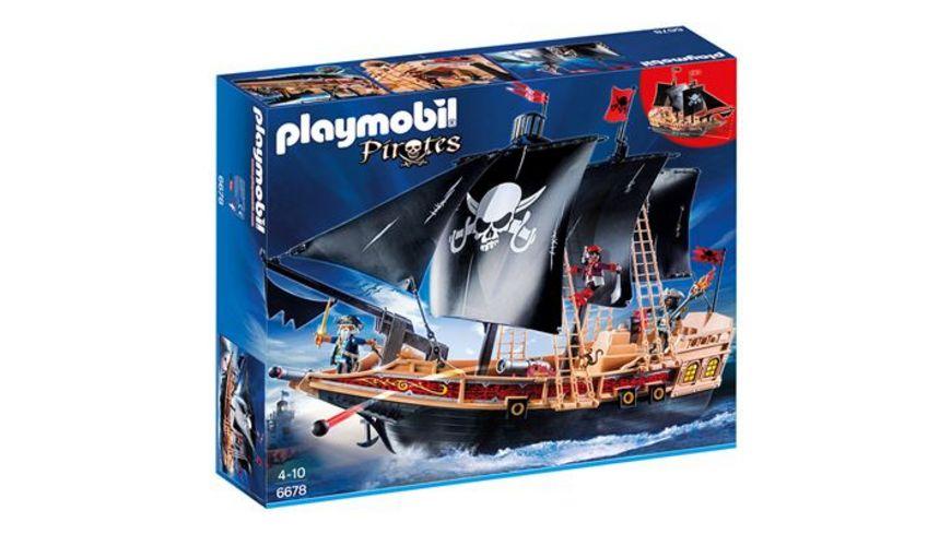PLAYMOBIL 6678 Pirates Piraten Kampfschiff