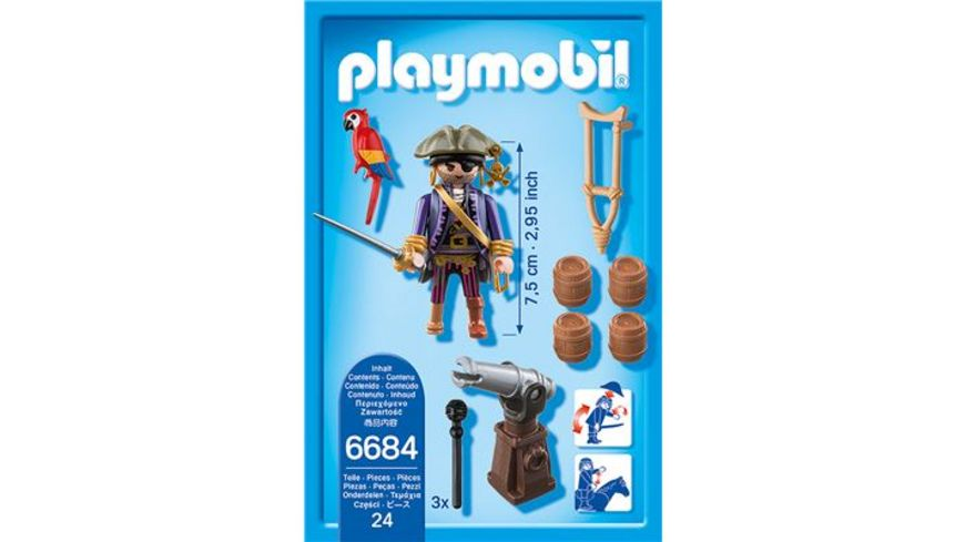 PLAYMOBIL 6684 Pirates Piratenkapitaen