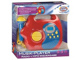 Mueller Toy Place Musik Player Radio und MP3 Wiedergabe mit Mikrofon