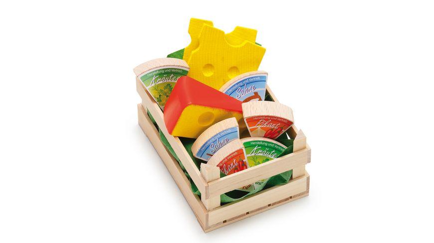 Erzi Kaese Sortiment aus Holz