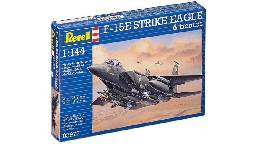 Revell 03972 F 15E Strike Eagle Bombs