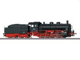 Maerklin 39552 Gueterzug Dampflokomotive mit Schlepptender Schwarz Rot DB