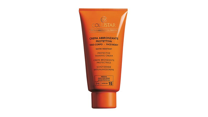 COLLISTAR Sun Protection Tanning Cream LSF 15