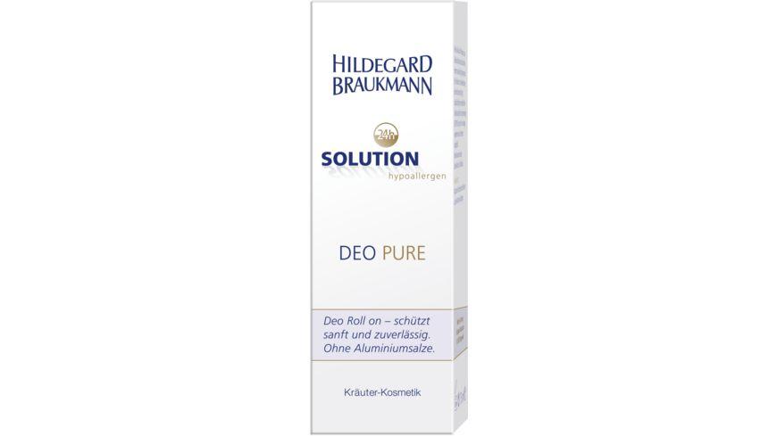 HILDEGARD BRAUKMANN 24h Solution Deo Pure