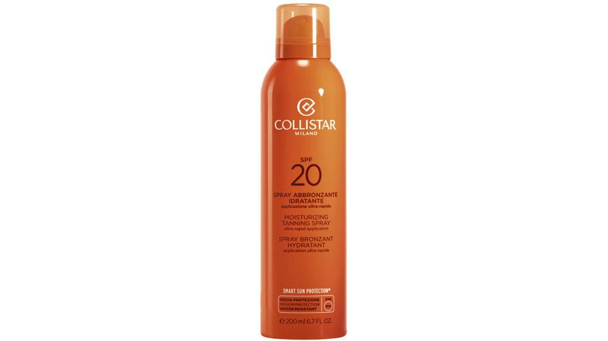 COLLISTAR Moisturizing Tanning Spray LSF20