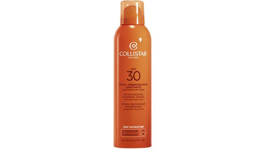 COLLISTAR Moisturizing Tanning Spray LSF 30