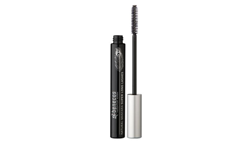 BENECOS Natural Mascara Super Long Lashes carbon black