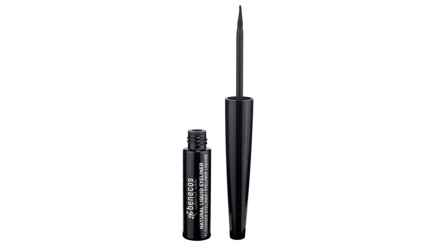 BENECOS Natural Liquid Eyeliner black