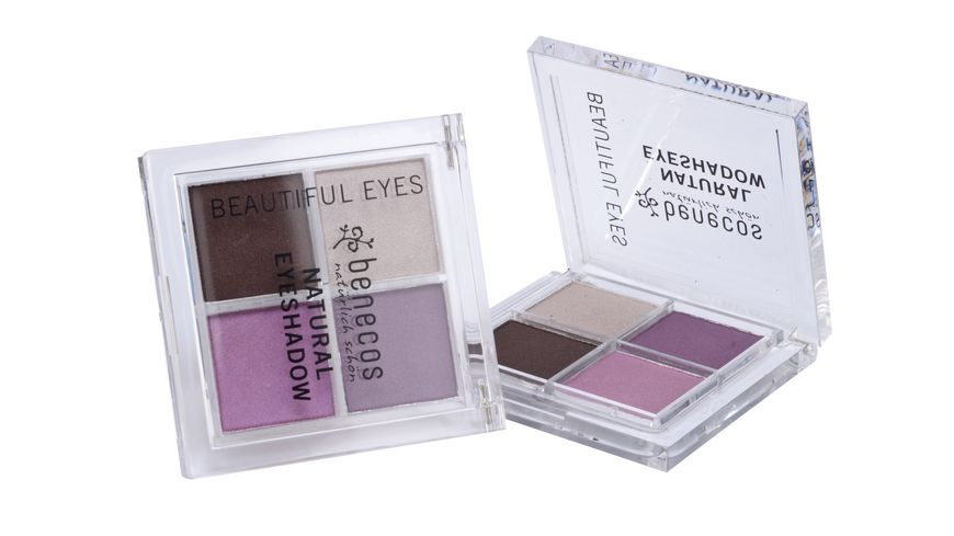 BENECOS Natural Quattro Eyeshadow