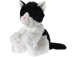 Heunec Friends4ever Glitter Kitty Babykatze schwarz weiss 24cm