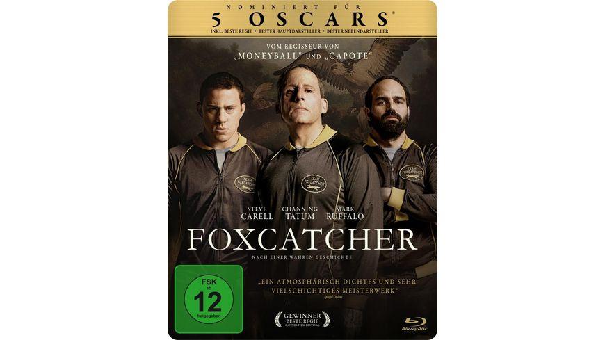 Foxcatcher exklusives Mueller Steelbook Blu ray Disc