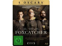 Foxcatcher exklusives Mueller Steelbook Blu ray Disc