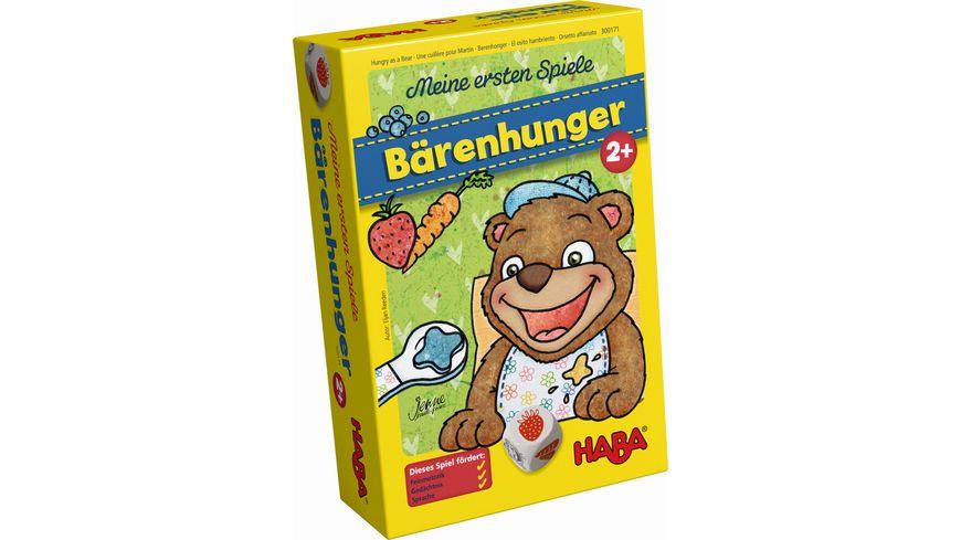 HABA Meine ersten Spiele Baerenhunger