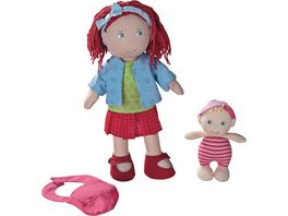 HABA Puppe Rubina mit Baby