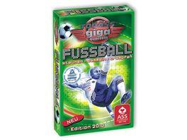 ASS Altenburger Spielkarten TOP ASS Giga Quartett Fussball