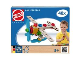 HEROS Constructor Flugzeug 40tlg
