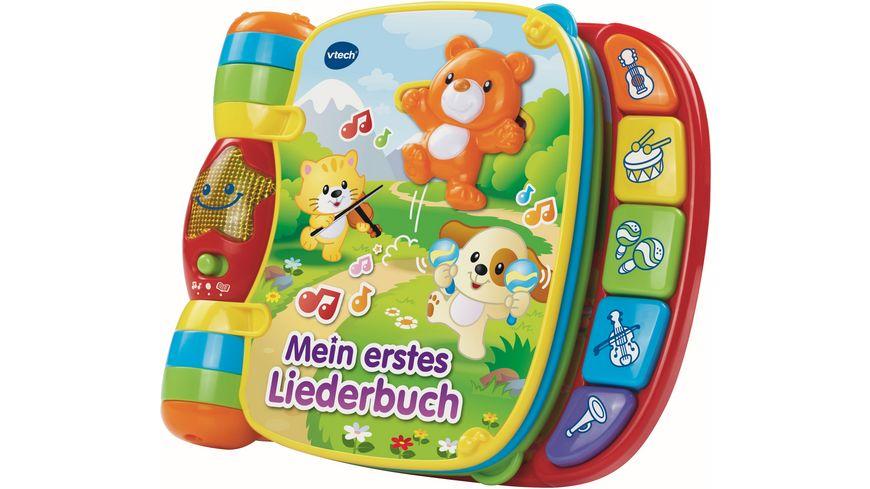 VTech Baby Mein erstes Liederbuch Rot