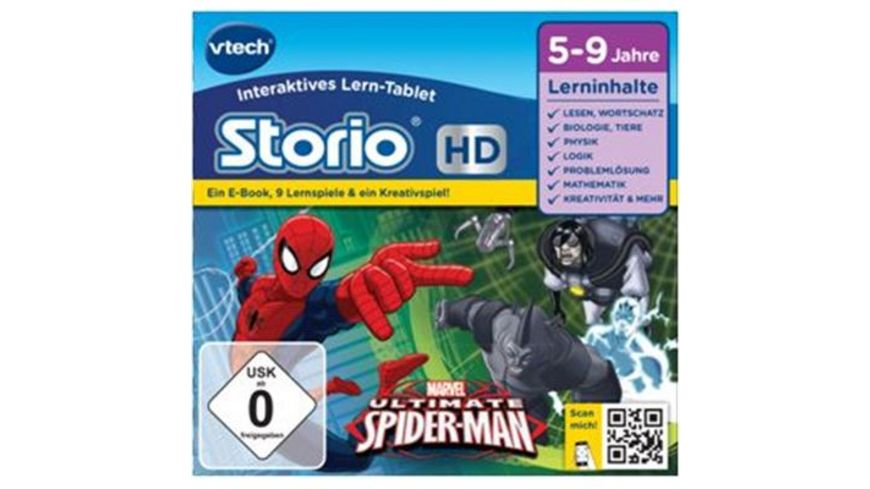 VTech Storio Lernspiele Der ultimative Spiderman