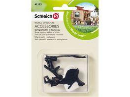 Schleich Horse Club Springreitsattel Zaumzeug