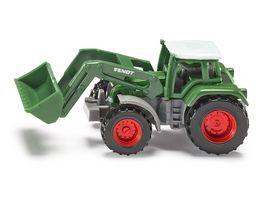 SIKU 1039 Super Fendt Traktor mit Fontlader