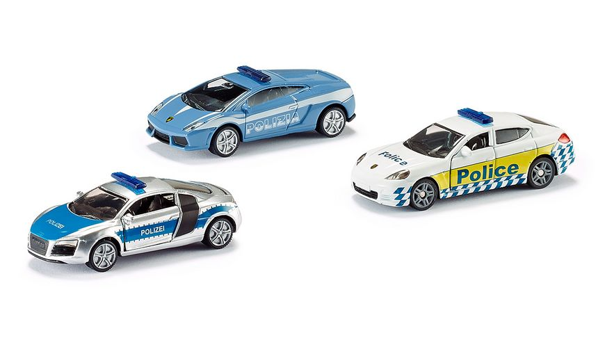 SIKU 6302 Super Geschenkset Polizei