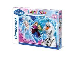 Clementoni Supercolor Puzzle 250 Teile Die Eiskoenigin