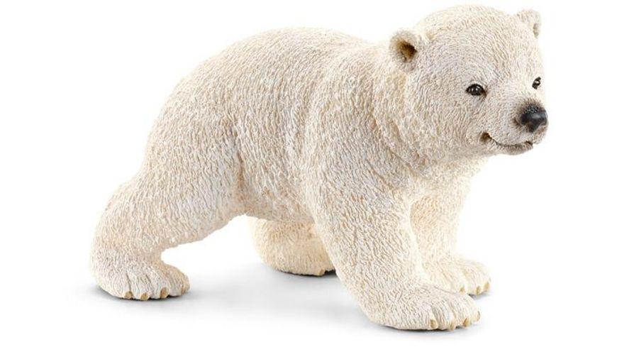 Schleich Wild Life Eisbaerjunges laufend