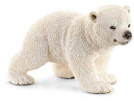 Schleich 14708 Wild Life Eisbaerjunges laufend
