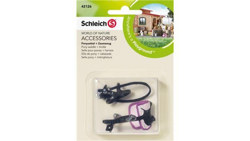 Schleich Horse Club Ponysattel Zaumzeug