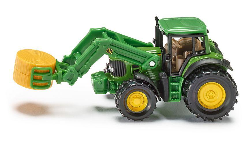 SIKU 1379 Super Traktor mit Ballenzange