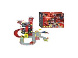Majorette Creatix Rescue Station plus 1 Car und Helikopter