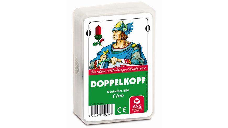 ASS Altenburger Spielkarten Doppelkopf deutsches Bild Kornblume