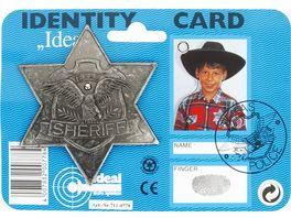 J G Schroedel Sheriff Stern antik