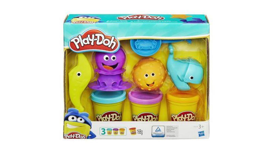 Hasbro Play Doh Unterwasser Knetwelt