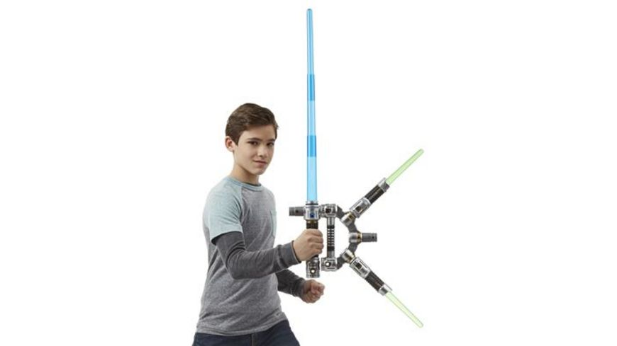 Hasbro Star Wars Movie Jedi Master Lichtschwert