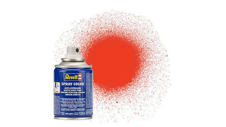 Revell 34125 Spray leuchtorange matt