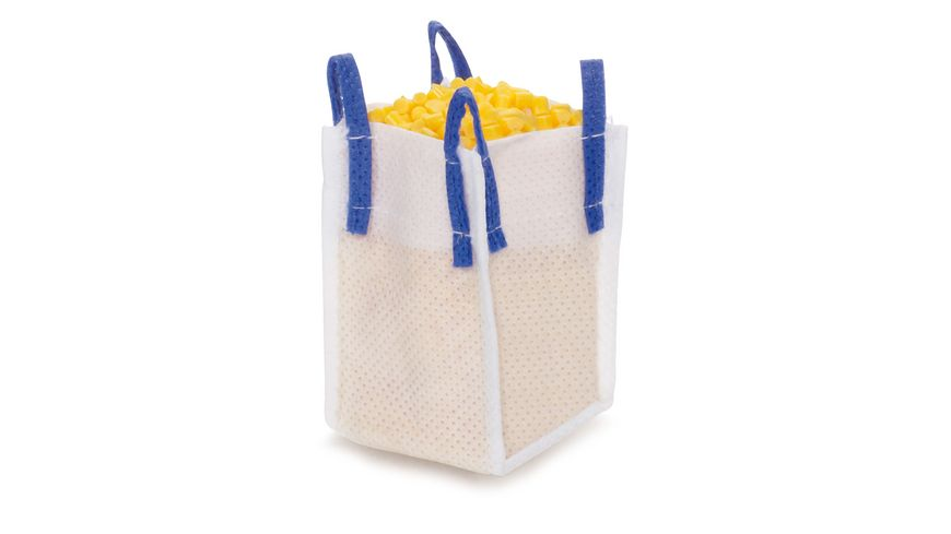 SIKU 5595 World - Zubehörpackung Granulat gelb mit Big-Bag