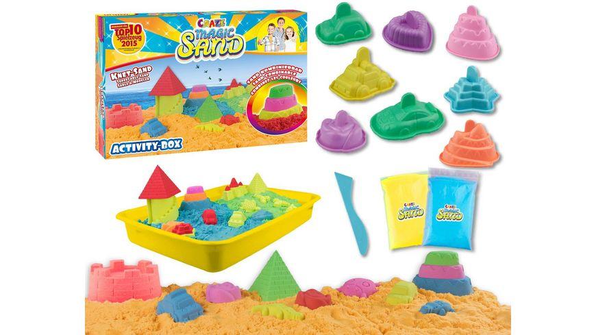 CRAZE Magic Sand Activity Box