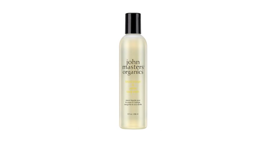 john masters organics blood orange vanilla body wash