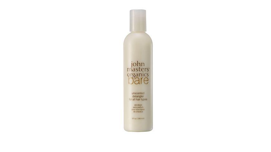 john masters organics bare unscented detangler for all hair types