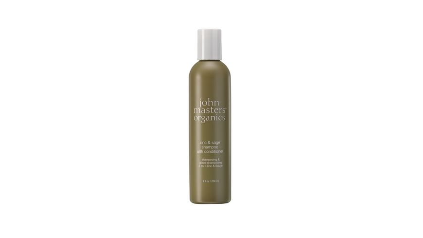 john masters organics zinc sage shampoo with conditioner