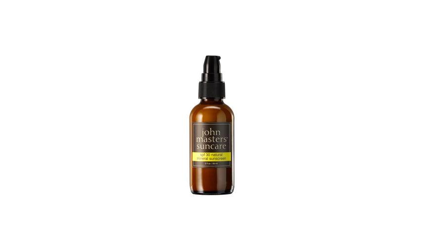 john masters organics natural mineral sunscreen LSF 30